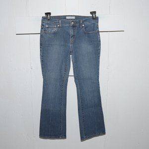 Levi's 515 boot womens jeans size 6 S 7946